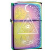 Зажигалка Multi Color Eye of Providence Design ZIPPO 49061