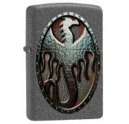Зажигалка Metal Dragon Shield Design ZIPPO 49072